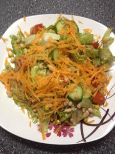 Gemischter Salat Candida Diät